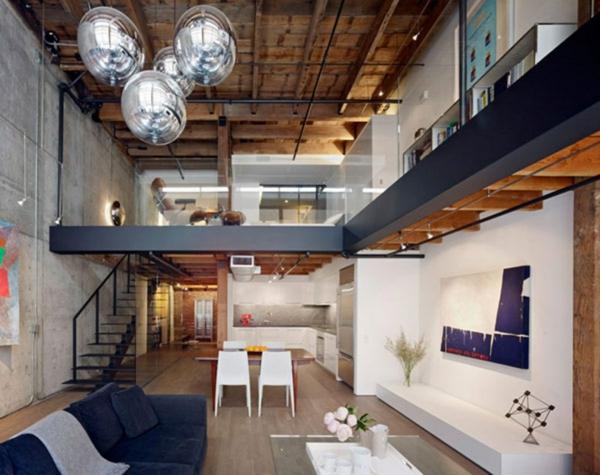 appartement-atypique-à-Paris-appartement-sur-deux-niveaux