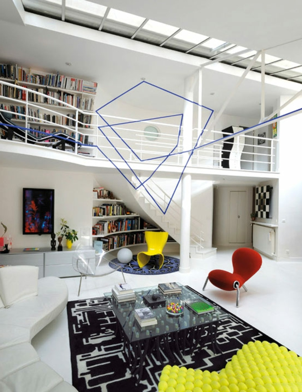 appartement-atypique-à-Paris-intérieur-coloré
