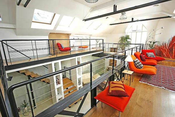 appartement-atypique-à-Paris-intérieur-loft-luxueux
