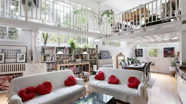 appartement-atypique-à-Paris-joli-intérieur-bl&nc