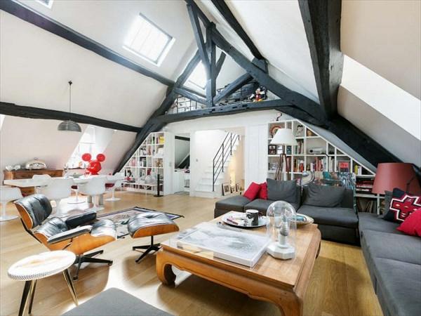appartement-atypique-à-Paris-le-loft-français-unique