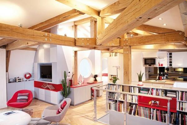 appartement-atypique-à-Paris-ossature-bois-naturel