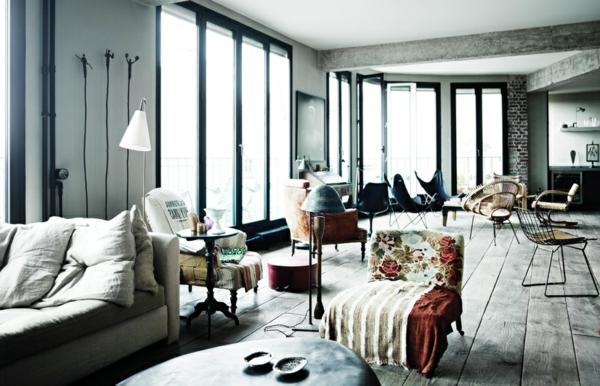 appartement-atypique-à-Paris-plancher-en-bois