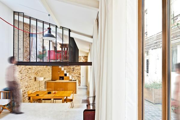appartement-atypique-à-Paris-style-loft