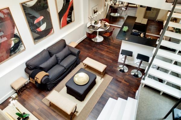 appartement-atypique-à-Paris-un-style-loft-moderne