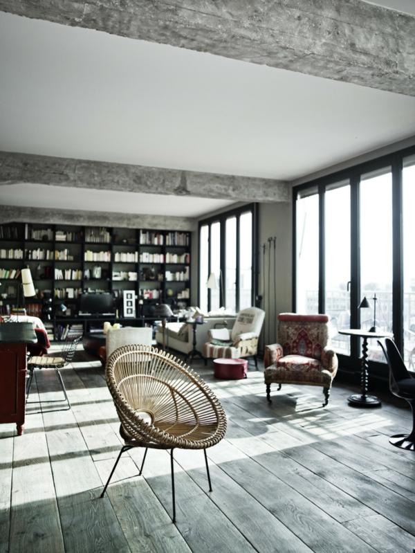 appartement-atypique-à-Paris-un-style-loft-parisien-exceptionnel