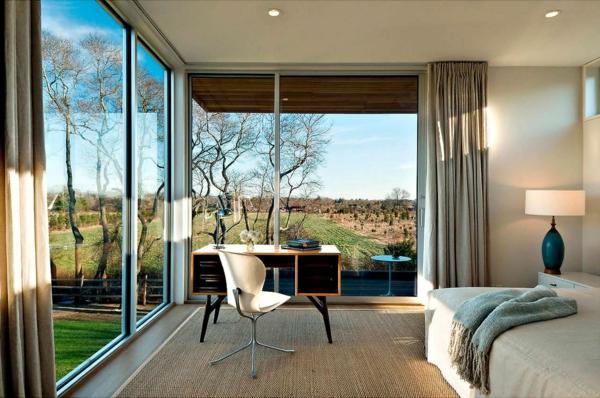 la baie vitr e coulissante pour un design spectaculaire. Black Bedroom Furniture Sets. Home Design Ideas