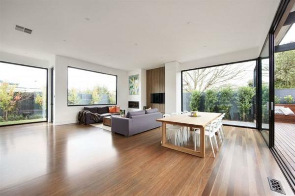 baie-vitrée-coulissante-design-d'intérieur-minimaliste