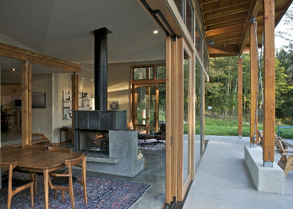 baie-vitrée-coulissante-intérieur-traditionnel