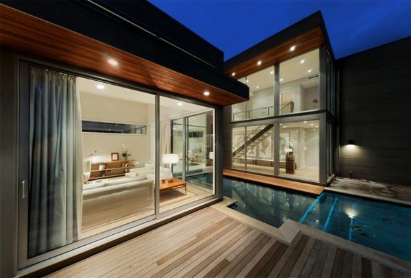 La baie vitrée coulissante pour un design spectaculaire ...
