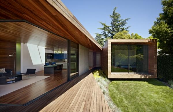 baie-vitreé-coulissante-des-maisons-à-plan-ouvert