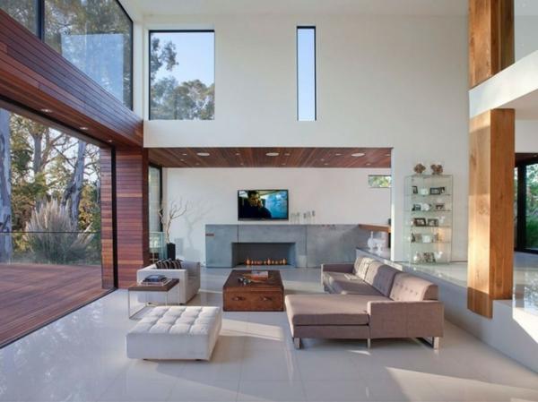 baie-vitreé-coulissante-salle-de-séjour-spacieuse