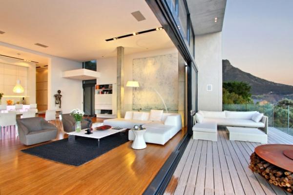 La baie vitr e coulissante pour un design spectaculaire for Grande baie vitree prix
