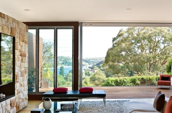 baie-vitreé-coulissante-une-maison-contemporaine