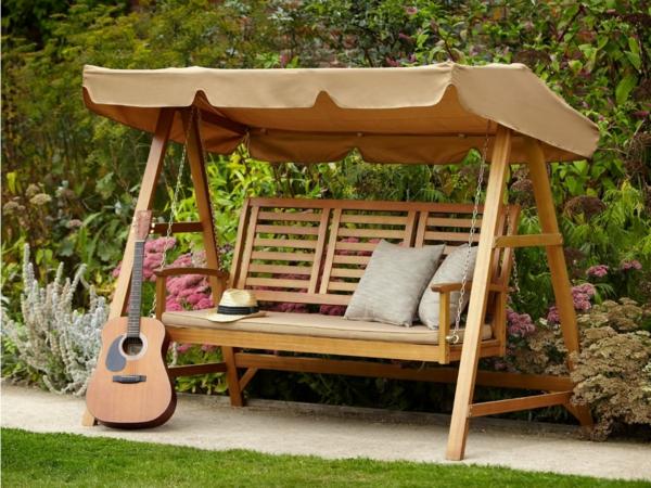 Diff rents designs de balancelle de jardin - Balancelle exterieur jardin ...