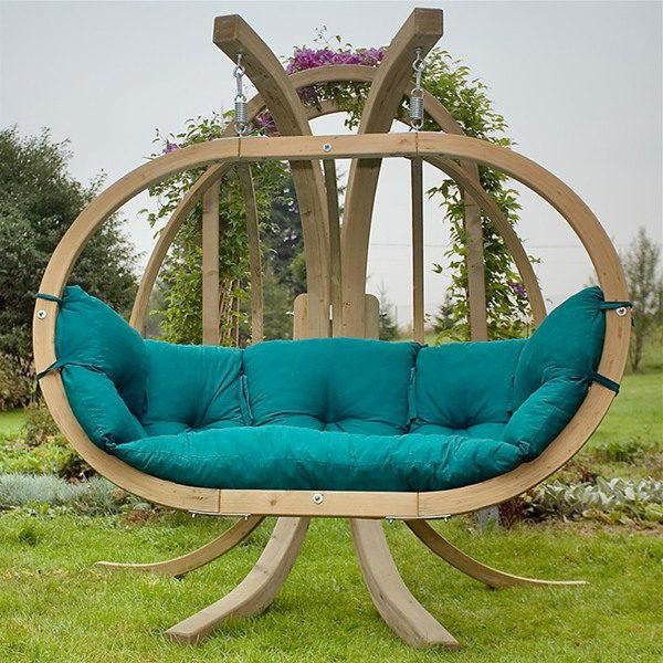 Différents designs de balancelle de jardin ~ Balancelle En Bois De Jardin