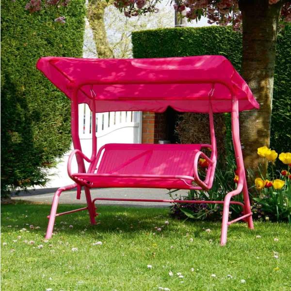 balancelle-de-jardin-design-rose-superbe