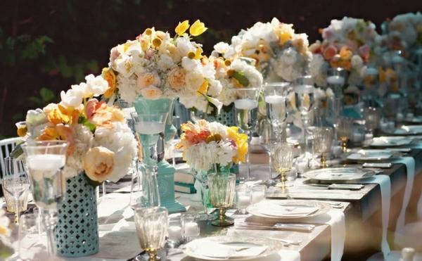 Id es de d co pour mariage champ tre - Decoration de table champetre ...