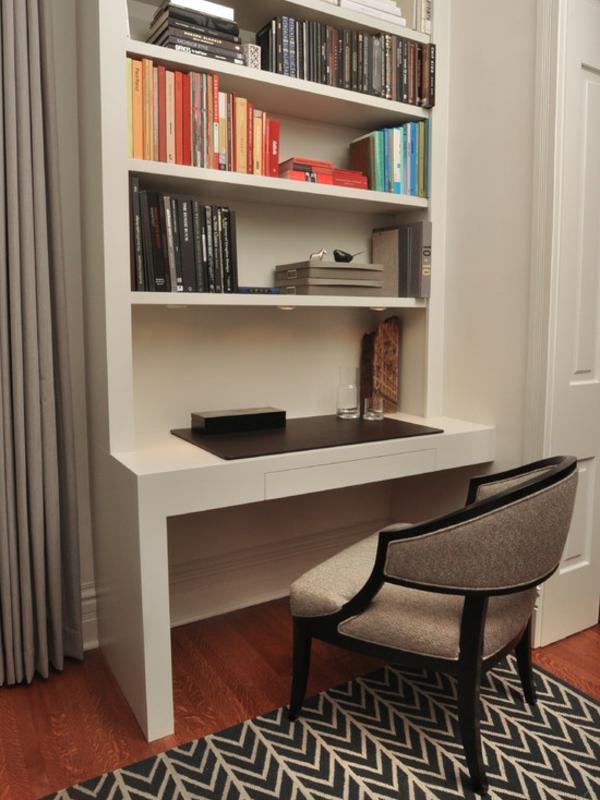 bureau-avec-étagère-bureau-intégré-et-une-grande-chaise-cosy