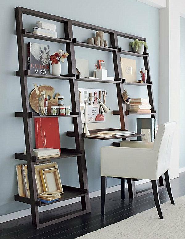 bureau-avec-étagère-design-extrardinaire