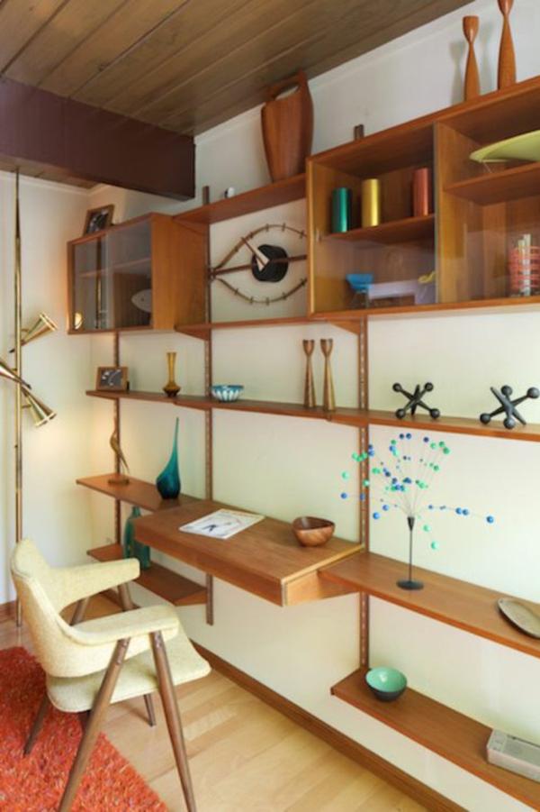 bureau-avec-étagère-design-fantastique-en-bois