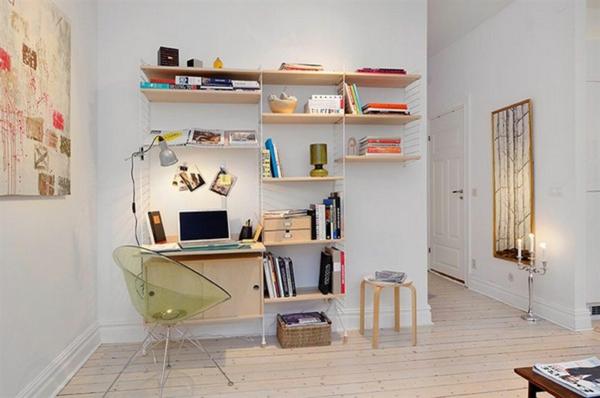 bureau-avec-étagère-design-minimaliste-en-bois-et-acier