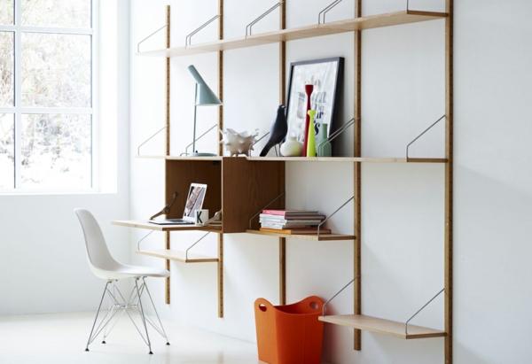bureau-avec-étagère-designs-créatifs-de-petits-bureaux-avec-rangement