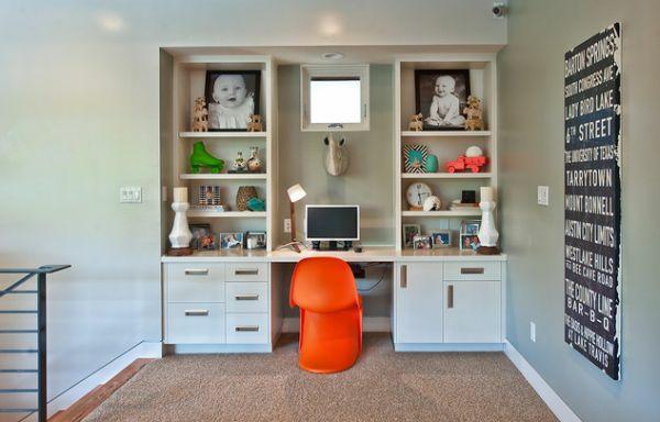 bureau-avec-étagère-espace-de-rangement-mural