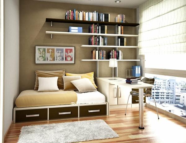 bureau-avec-étagère-intérieurs-modernes