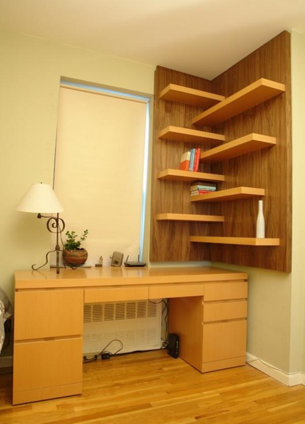 bureau-avec-étagère-office-moderne-à-la-maison