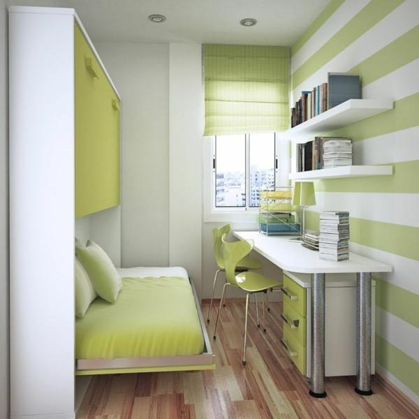 bureau-avec-étagère-petite-chambre-à-coucher