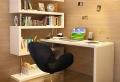 Le bureau avec étagère – designs créatifs