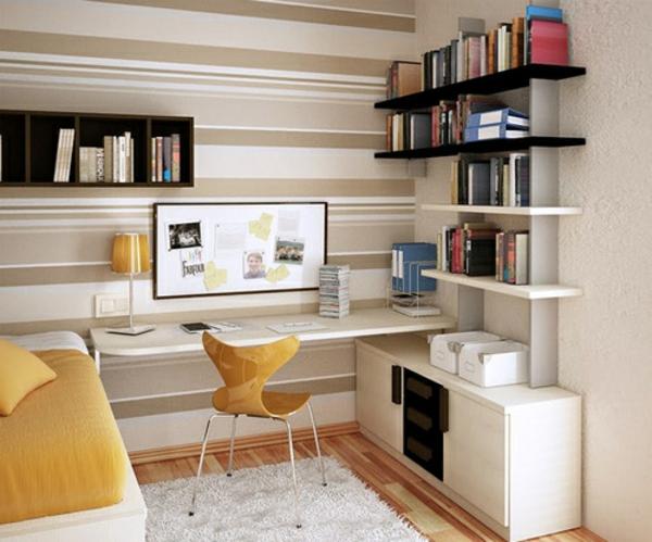 bureau-avec-étagère-un-bureau-cosy-avec-rangement