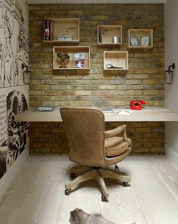 bureau-avec-étagère-unités-en-bois-suspendues-design-fantastique
