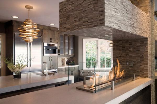 cheminée-contemporaine-dans-une-cuisine