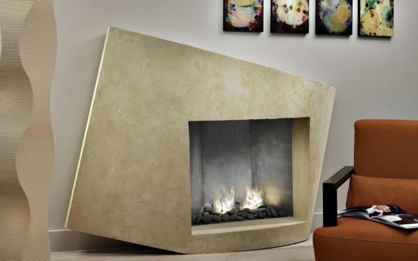 cheminée-contemporaine-encadrement-beige