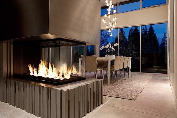 cheminée-contemporaine-grande-cheminée-et-salle-de-déjeuner-luxueuse