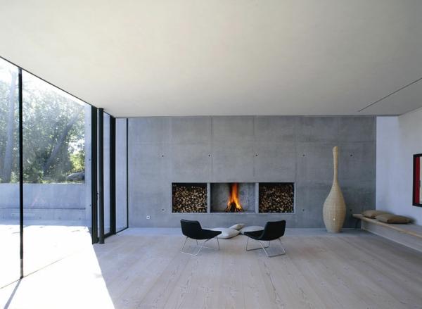 cheminée-contemporaine-intérieur-moderne