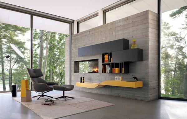 cheminée-contemporaine-intérieur-simple-et-lumineux