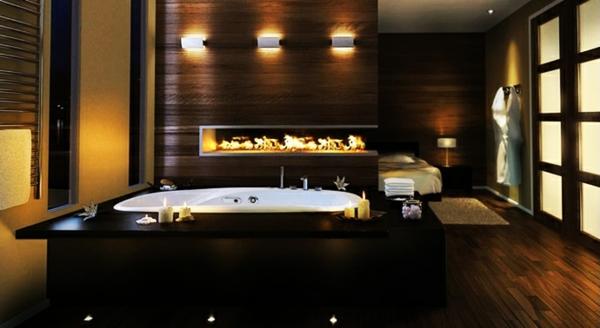cheminée-contemporaine-salle-de-bain-luxueuse