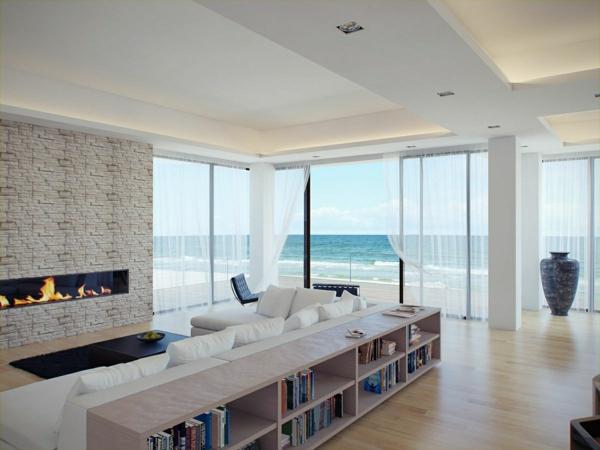 cheminée-contemporaine-une-maison-près-de-la-mer