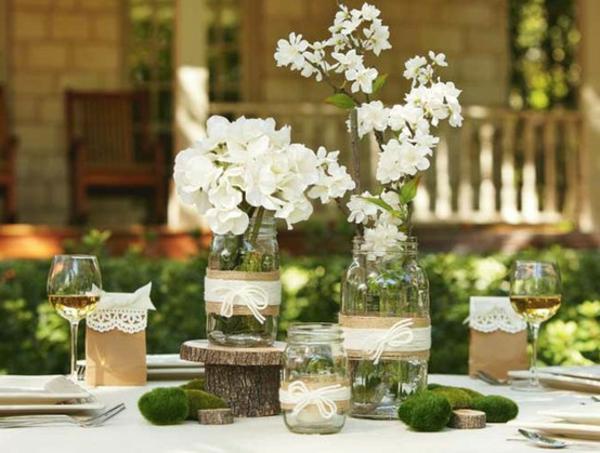 Id es de d co pour mariage champ tre - Decoration champetre pour mariage ...