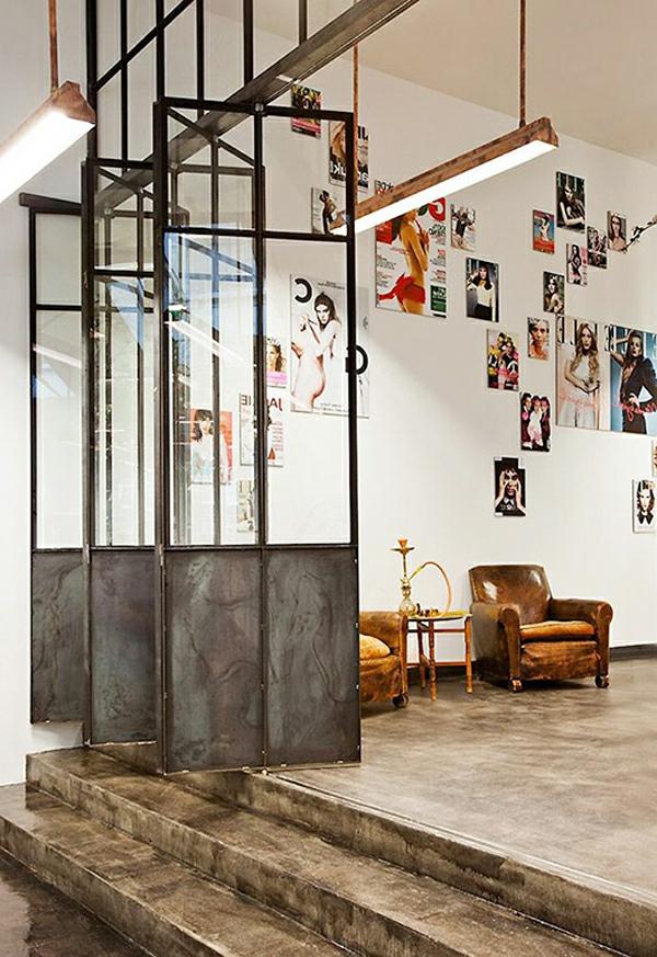 La cloison vitr e int rieure pour un espace original - Verriere interieure coulissante ...