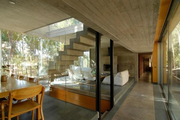 cloison-vitrée-intérieure-et-escalier-flottant-maison-contemporaine