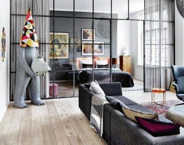 Cloison vitree interieure meilleures images d 39 inspiration pour votre design de maison - Type de cloison interieure ...