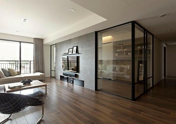 Idee originale interieur maison for Cloison vitree interieur