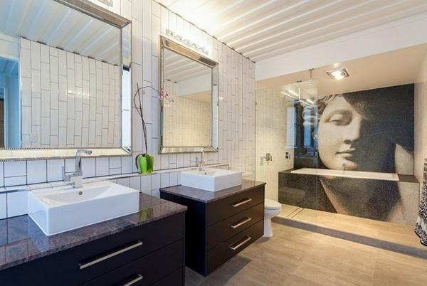 La cloison vitr e int rieure pour un espace original for Cloison pour salle de bain