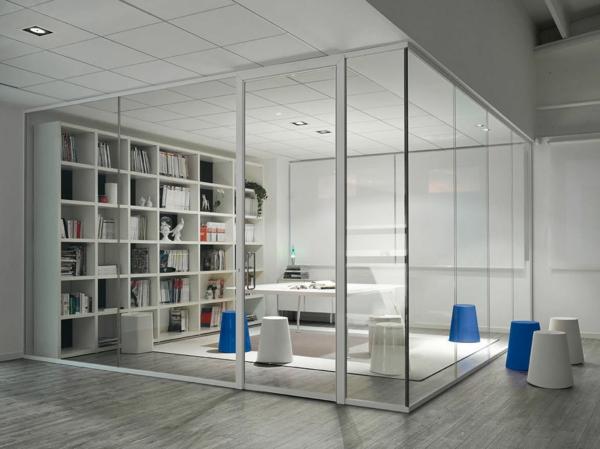 La cloison vitr e int rieure pour un espace original for Cloison transparente coulissante