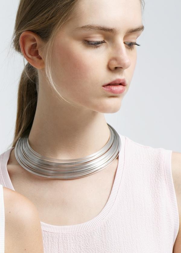collier-torque-multiple-argenté