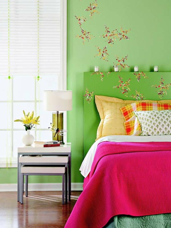 coloré-idée-pour-la-table-et-décoration-de-chabre-à-coucher